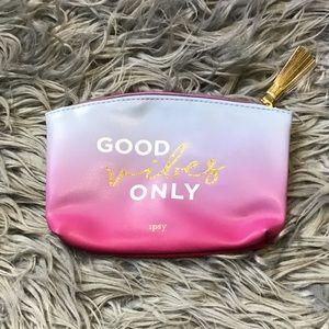 Ipsy Good Vibes Makeup Bag - Bundle and Save!!